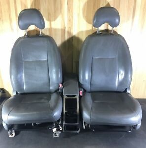 2004 2009 Toyota Prius Gray Leather Seat Set Front And Rear Freight Ship