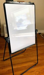 Freestanding Whiteboard Two Sided 25x35
