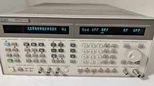 Agilent 8665b Synthesized Signal Generator 1 6000mhz Opt 001 004 Free Shipping