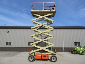 2008 Jlg 4069le Scissor Lift Boom 40 Lift Genie Bobcat Low Hours Iowa