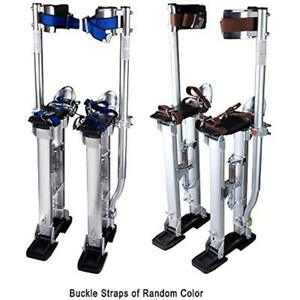 24 40 Professional Grade Adjustable Drywall Stilts Taping Paint Aluminum