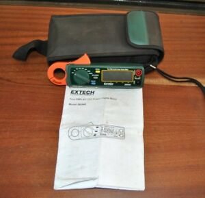 Extech Ac dc Power Clamp Meter