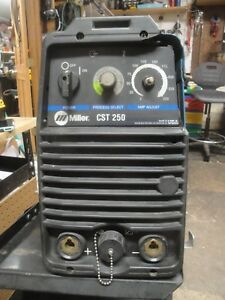 Miller Cst 250 Tig Stick Welder Inverter With Leads Made In Usa