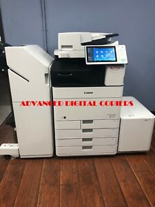 Canon Imagerunner Ir Advance C5560i Copier Color Printer Scanner Very Low Meter