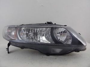 2009 2010 2011 Honda Civic Coupe Passenger Rh Halogen Headlight Oem B41r