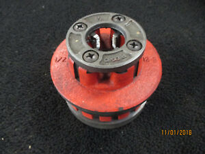 Ridgid R 12 1 2 Pipe Threader Die Free Shipping