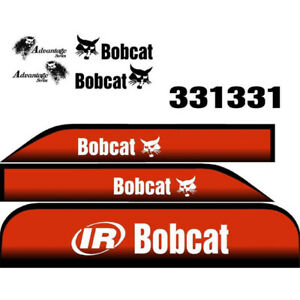 331 Excavator Bobcat Decal Set Whole Machine With Advantage Series Decals