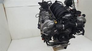 Engine Motor 4 5l With Turbo Engine Vin C 450 Hp 03 06 Cayenne Porsche Oem