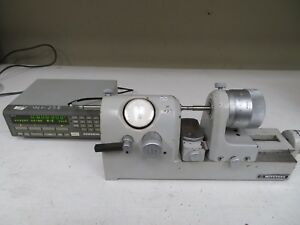 Mitutoyo Bench Comparator Gage W Digital Readout Mdl 162 102 Nc48