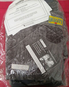 Surefit Simulated Sheepskin Seat Cover Charcoal Contains Two