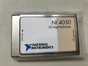 National Instruments Ni 4050 Digital Multimeter Card Pcmcia Free Us Shipping