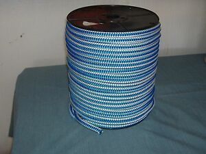 Arborist 12 Strand Polyester Climbing Rope 1 2x300 Ft Blue White Tree Climbing