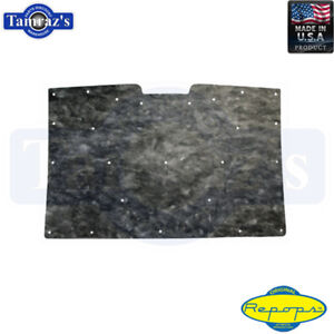 1981 1987 Chevy Gmc Truck Hood Insulation Pad High Quality With Clips Repops