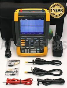 Fluke 190 202 Scopemeter 2 5gs s 2 Channel 200mhz Oscilloscope 190 202