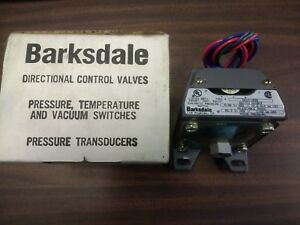 New Cd1h h2ss Barksdale Dialamatic Pressure Switch 0 5 To 35 Water Pressure
