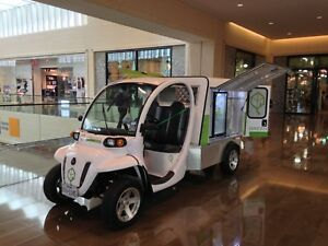 One Of Kind Food Truck Polaris Gem Cart With Turbo Air Indoor Outdoor Use