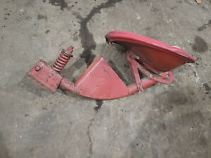 Farmall H Early Flip Seat With Tool Box Antique Tractor Seat Complete Ih M Md