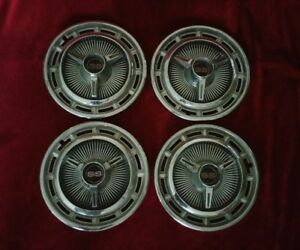 1965 Chevrolet Impala Ss Spinner Hubcaps Chevy Wheel Covers 1964 1966
