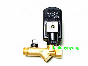 New 110v 1 2 Automatic Electronic Timed Air Compressor Tank Drain Valve 16b