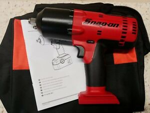 Snap On Ct6818 1 2 18volt Heavy duty Impact Wrench uses Ctb4187 tool Only used