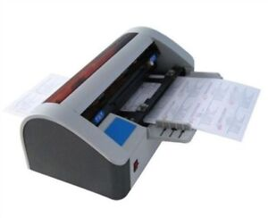 Business Name Card Cutter Desktop 220v Brand New Semi automatic Bs