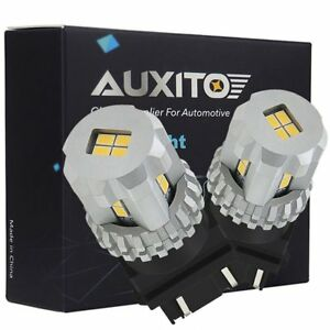 Auxito 3157 3156 3057 4057 Led Cool White Backup Tail Reverse Light Drl Bulbs