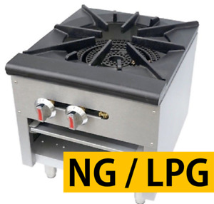 Pantin 18 Commercial Single Gas Stock Pot Stove Range Cooktop 100 000btu Nsf