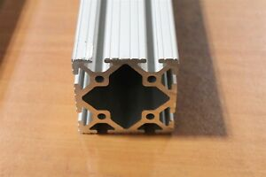 80 20 Inc 3 X 3 T slot Aluminum Extrusion 15 Series 3030 X 72 Long Used Sc F2 01
