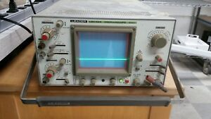 Leader Lbo 523 Oscilloscope 35mhz power On Tested Only C718ds