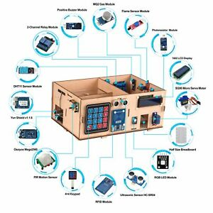 Us Yun Iot Smart Home Kit For Arduino Mega 2560 Open Source Diy Iot Projects