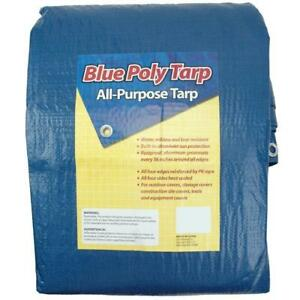 Blue Tarp 30 X 50 Economyall Purpose Water Resistant Tarp hurricane Relief