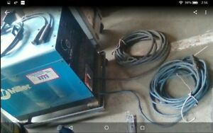 Miller Dialarc 250 Ac dc Welder 1phase With Lead Cables