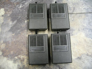 Nhn8067a Minitor Ii Replacement Housing With Belt Clip Lot Of 4