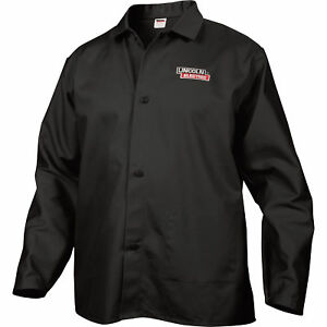 Lincoln Electric Flame retardant Welding Jacket Xxl Size 34in Sleeves Black