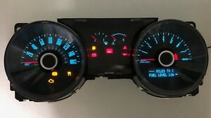 2013 2014 Ford Mustang Speedometer Gauge Cluster 3 7l Dr33 10849 Aa Ab Ac Ad