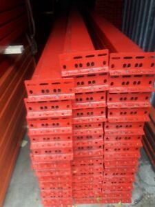 Pallet Rack Racking Shelving Racks Warehouse Teardrop New Beams 12 x7 Rails