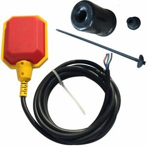 Sump Alarm Tether Float Switch wire Lead W 100 Cord
