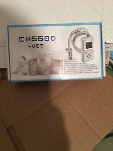 Veterinary Pulse Oximeter Cms60d vet Tongue Spo2 Probe Pc Software