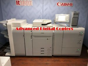 Canon Imagepress C700 Copier printer With Finisher And Server F 200 Low Meter
