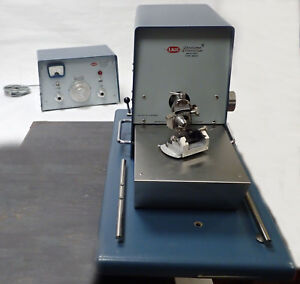 Lkb Ultratome Assembly W Ultramicrotome Main Unit 8801a Control Unit 8802a