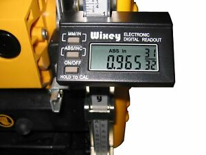 Wixey Wr510 Digital Planer Readout With Fractions New