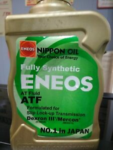 Eneos Automatic Transmission Fluid Atf Dexron Iii Mercon Fully Synthetic