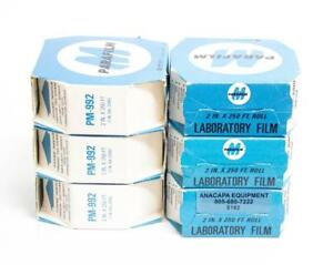 Parafilm M Roll 250 Length X 2 Width Laboratory Film New Lot Of 6 6182