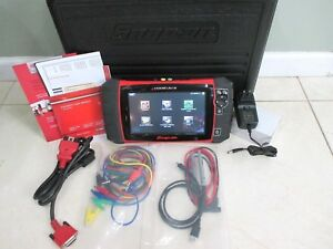 Snapon Modis Ultra Diagnostic Scanner With 2 Channal Lab Scope Nice