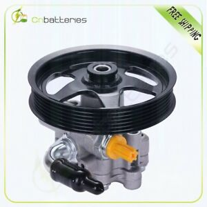 New Power Steering Pump W Pulley For Pontiac Gto 2005 2006 6 0l 364cu V8 Ohv