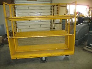 2 Sided Industrial Cart