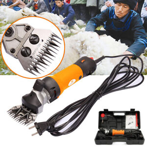 Professional 690w 6 Speed Adjustable Sheep Shears Goat Clipper Animal Grooming