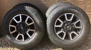 4 2019 Toyota Tundra Stock Wheels And Tires Michelin Ltx A t 2 All Terrain