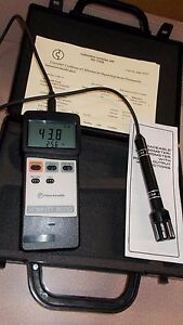 Fisher Digital Traceable Humidity Temperature Meter Dew Point Hygrometer Lab