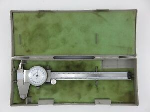 Mitutoyo 505 626 50 Shockproof Dial Caliper 6 150mm 001 Made In Japan